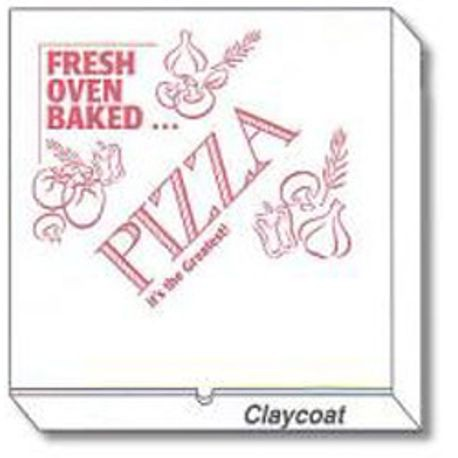 "12"" Square Printed Pizza Box"