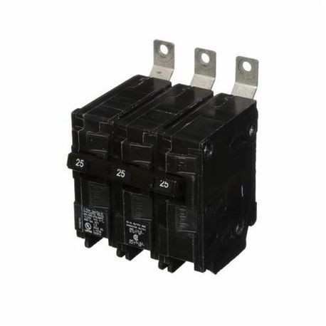 Siemens SpeedFax™ B325 Molded Case Circuit Breaker, 240 VAC, 25 A, 10 kA Interrupt, 3 Poles, Thermal Magnetic Trip