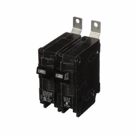 Siemens SpeedFax™ B220HH Molded Case Circuit Breaker, 120/240 VAC, 20 A, 65 kA Interrupt, 2 Poles, Thermal Magnetic Trip