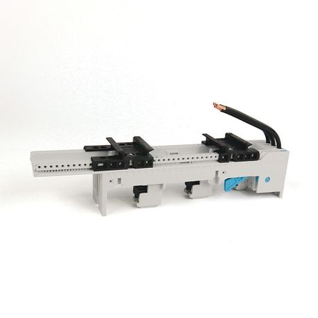 141A MCS Mounting System Adapter Modules, MCS Standard Busbar Module, 45mm x 260mm, 25 Amp, 1 MCS Specific Top Hat Rail + 1 Standard Top Hat Rail