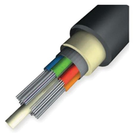 AFL® LE0249C5101N1 Non-Armored Loose Tube Plenum Single Mode Fiber Optic Cable, 24 Fibers, 9 um Core, 22900 ft L