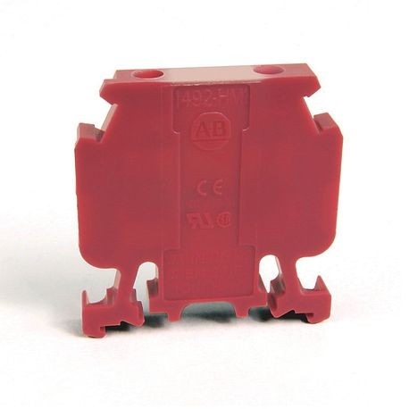 1492-H Finger-Safe Terminal Blocks, H-Block,Code 1,Violet,No Bulk Pack (Single Block)