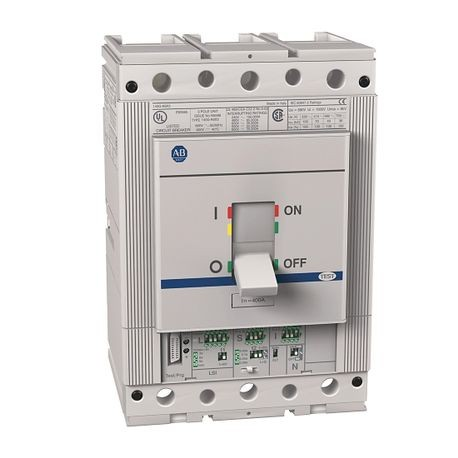 140G - Molded Case Circuit Breaker, K frame, 65 kA, LSI (electronic), Rated Current 400 A
