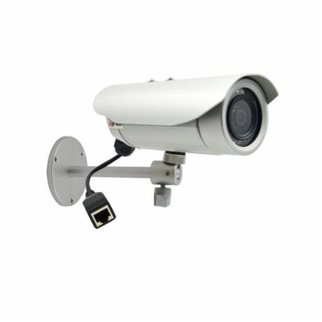ACTi E31 Bullet Camera, Fixed Lens, 1 MP Pixels, H.264/MJPEG Video Outputs, Outdoor Indoor/Outdoor