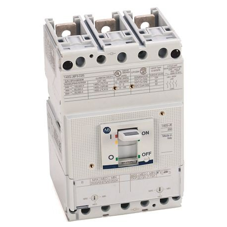 140G - Molded Case Circuit Breaker, J frame, 65 kA, T/M - Thermal Magnetic, Rated Current 250 A