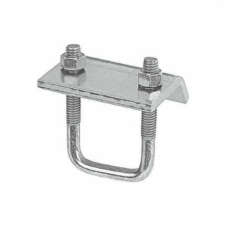 Superstrut® U502-EG 500 U-Bolt Beam Clamp, For Use With A-1202, A-1402,  C-1202 and H-1200 Series Channel, 3/16 in THK Flange, 3000 lb Load  Capacity,