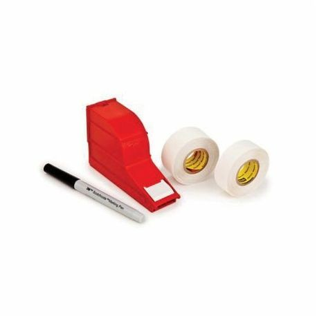 3M™ ScotchCode™ 511285-62208 Write On Dispenser Refill Roll, 1-3/8 in L x 3/4 in W, Polypropylene, White