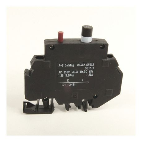 1492-GH Miniature Circuit Breaker, 1.2 Amp Rating