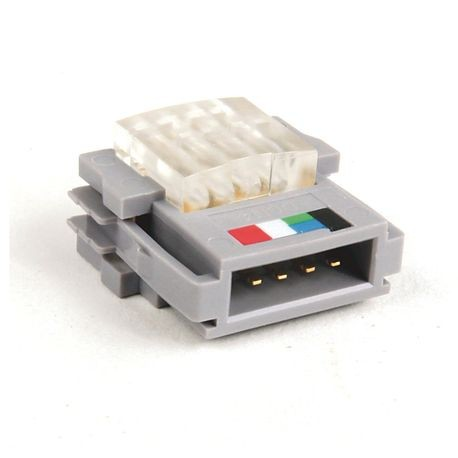 1485 DeviceNet Connectors and DevicePorts, Converter - Flat Cable to Thin Round Media, Flat Cable to Thin Cable Converter, 1 Port, Standard