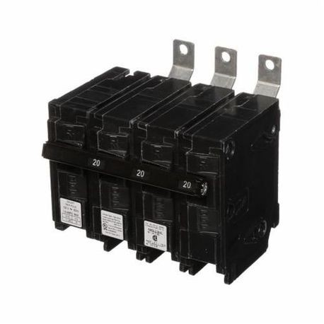 Siemens SpeedFax™ B320H00S01 Molded Case Circuit Breaker, 120/240 VAC, 20 A, 22 kA Interrupt, 3 Poles, Thermal Magnetic Trip