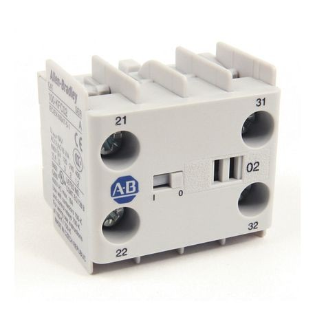 100-K/104-K/700-K Auxiliary Contact Blocks, Screw-In Terminals, Starting at 2-, 4 N.O., Shipped In Package Quantities of 1