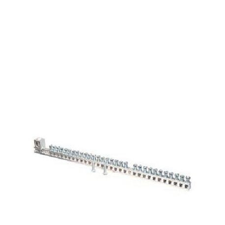 Siemens EC3GB302 Ground Bar Kit, 14 to 4 AWG Aluminum/Copper Conductor, 30 Terminals, For Use With: ES and PL Loadcenter