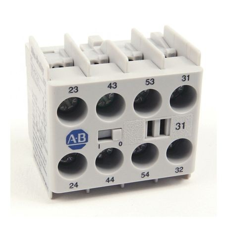 100-K/104-K/700-K Auxiliary Contact Blocks, Screw-In Terminals, Starting at 2-, 3 N.O. / 1 N.C., Shipped In Package Quantities of 1