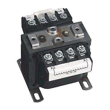 Rockwell Automation 1497A-A2-M6-3-N Control Circuit Transformer, 220/440 VAC, 230/460 VAC, 240/480 VAC Primary, 110/115/120 VAC Secondary, 75 VA Power, 50/60 Hz Primary Frequency