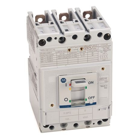 140G - Molded Case Circuit Breaker, H frame, 25 kA, T/M - Thermal Magnetic, Rated Current 63 A