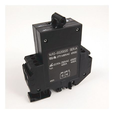1492-GS Miniature Circuit Breaker, 2-pole, 1.0 A