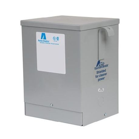Acme Electric® TF279303S Dry Isolation transformer, 220/440 VAC Primary, 110/220 VAC Secondary, 5 kVA, 50/60 Hz, 1 Phase