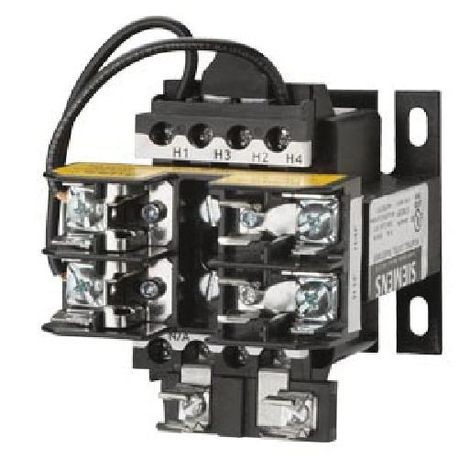 Siemens KT7050P KT Series Open Style Control Power Transformer, 277 VAC Primary, 120 VAC Secondary, 50 VA Power, 50/60 Hz Frequency, 1 Phase