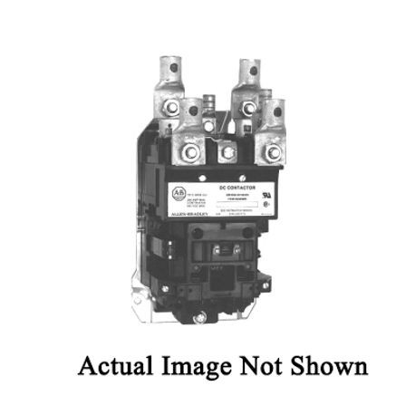 Allen-Bradley 1370-DC110 DC Loop Contactor With Non-Reversing Dynamic Brake, 115 VAC Coil, 110 A Maximum Load Current, 1NC Contact Configuration
