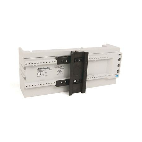141A MCS Mounting System Adapter Modules, MCS Standard Busbar Module, 81mm x 200mm, No Electrical Connections, Standard Top Hat Rail