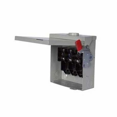 Siemens NF355SSDTK Heavy Duty Non-Fusible Safety Switch, 600 VAC, 400 A, 350 hp, TPDT Contact Form, 3 Pole
