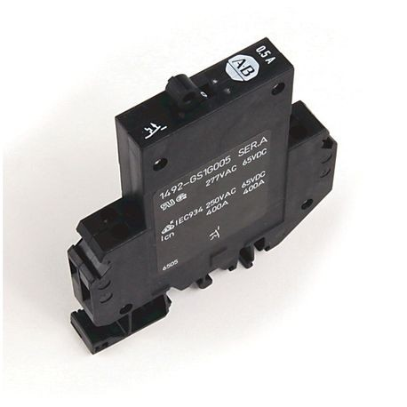 1492-GS Miniature Circuit Breaker, 1-pole, 2.0 A, Optional Auxiliary Contact: Normally Open