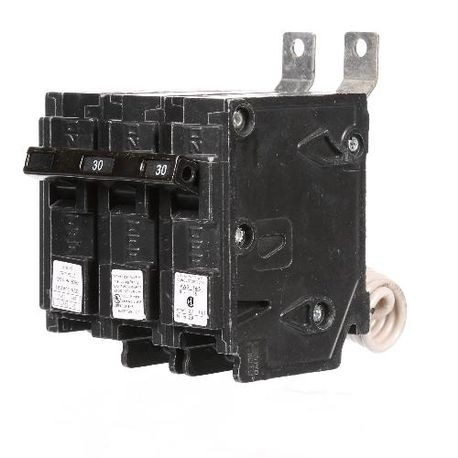 Siemens SpeedFax™ B230H00S01 Molded Case Circuit Breaker, 120/240 VAC, 30 A, 22 kA Interrupt, 2 Poles, Thermal Magnetic Trip
