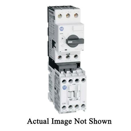 Allen-Bradley 190E-AND1-CA63C Eco IEC Starter With MPCB, 110/120 VAC Coil, Non-Reversing Action, Open Enclosure