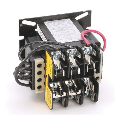 1497 - CCT Standard Transformer, 80VA, 240/480V 60Hz / 220/440V 50Hz Primary, 24V 50/60Hz Secondary, 0 Pri - 0 Sec Fuse Blocks, No Cover/ No Sec. Fuse