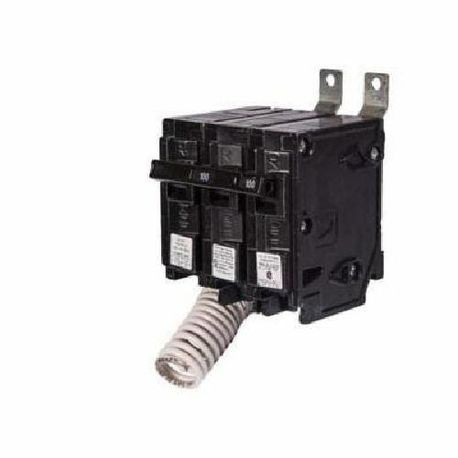 Siemens SpeedFax™ B28000S01 Molded Case Circuit Breaker With Insta-Wire, 120/240 VAC, 80 A, 10 kA Interrupt, 2 Poles, Thermal Magnetic/Shunt Trip