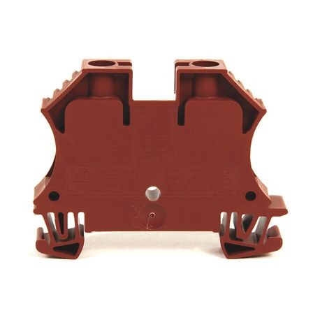 1492-J IEC Terminal Block, One-Circuit Feed-Through Block, 10 mm (# 22 AWG - # 8 AWG), Standard Feedthrough, Black,
