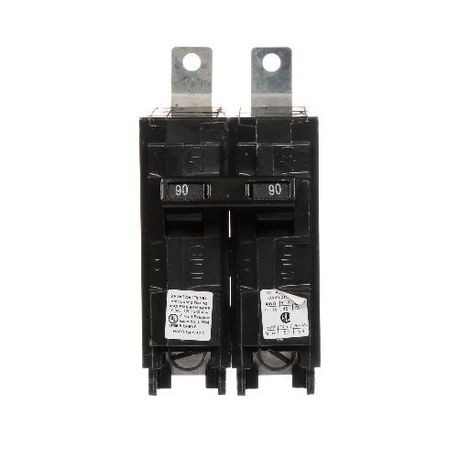 Siemens SpeedFax™ B290 Molded Case Circuit Breaker, 120/240 VAC, 90 A, 10 kA Interrupt, 2 Poles, Thermal Magnetic Trip