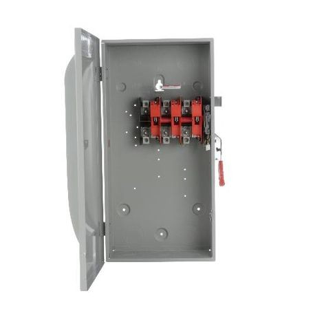 Siemens HNF364G Enclosed Heavy Duty Non-Fusible Safety Switch, 600 VAC, 200 A, 50 hp, 150 hp, TPST Contact Form, 3 Pole