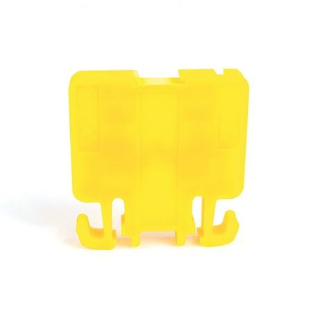1492-H Finger-Safe Terminal Blocks, H-Block,Code 1,Yellow,No Bulk Pack (Single Block)