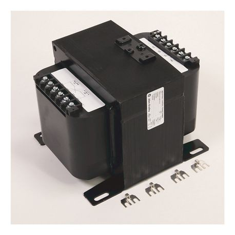 1497B - CCT, 2000VA, 240x480V 60Hz Primary-120/240V Secondary, 2 Primary - 1 Secondary Fuse Blocks