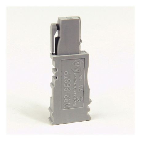 1492 Terminal Block Accessories Ganged Connector Start Plug (Grey)