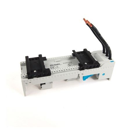141A MCS Mounting System Adapter Modules, MCS Standard Busbar Module, 54mm x 200mm, 45 Amp, 2 MCS Specific Top Hat Rail