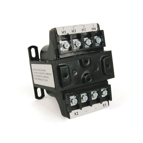 1497B - CCT, 1000VA, 240x480V 60Hz Primary-120/240V Secondary, 0 Primary - 0 Secondary Fuse Blocks