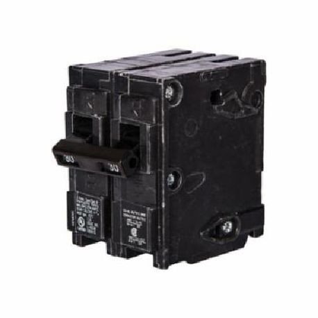 Siemens Q26000S07 Molded Case Circuit Breaker, 120/240 VAC, 60 A, 10 kA, 2 Poles, Thermal Magnetic/Shunt Trip