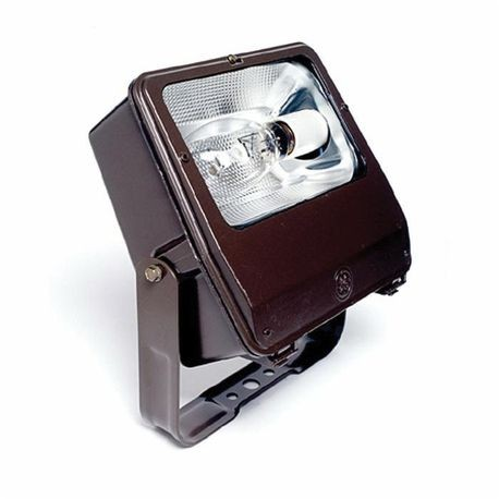 Ge Powerflood Pf1s Flood Light Fixture Hps Lamp 250 400 W