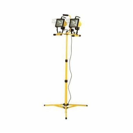 Hubbell Outdoor Lighting Qwl 1000t Portable Quartz Flood Worklight Halogen Lamp 500 W 120 V T3 Base 2 Heads