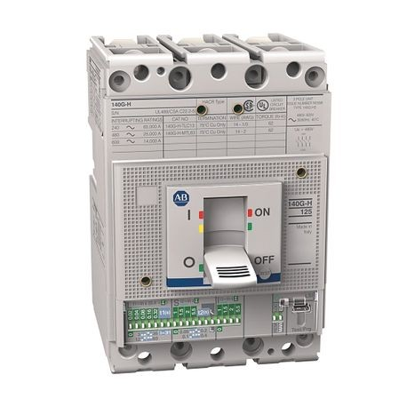 140G - Molded Case Circuit Breaker, H frame, 35 kA, T/M - Thermal Magnetic, Rated Current 60 A