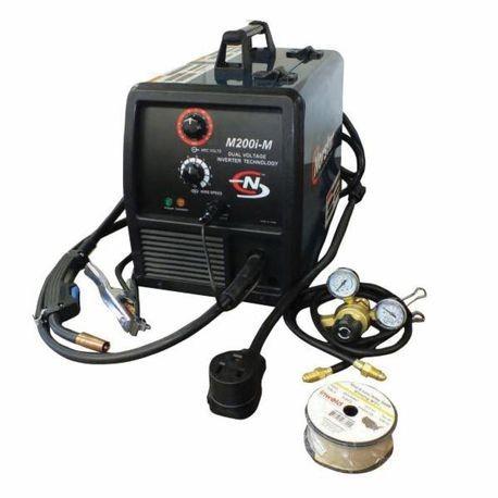 coplay norstar n810200m-i dual voltage input mig welder, 115/230 vac,  90/150 a, 50/60 hz | smc electric