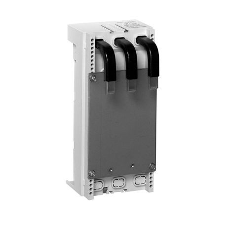 141A MCS Mounting System Adapter Modules, MCS Standard Busbar Module for 140G/140MG Circuit Breakers, 90mm x 200mm, 125 Amp, Without Hat Rails, Terminals on the Top
