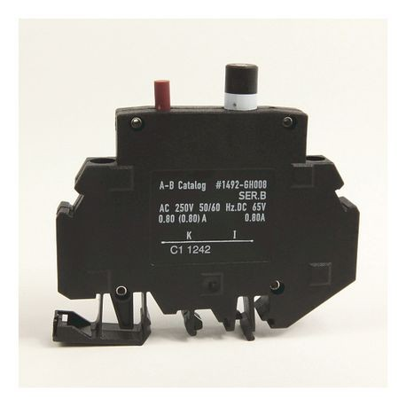 1492-GH Miniature Circuit Breaker, 2.0 Amp Rating