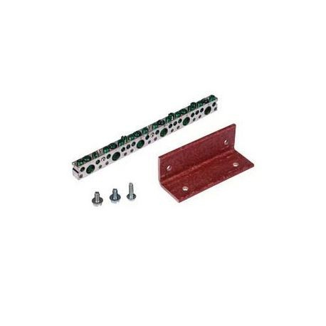 Siemens ICGK Insulated Ground Bus Kit, For Use With S1, S2, S3 and SE Series Panelboard, 44-Ports, 14-1/0 AWG Conductor Range, Copper