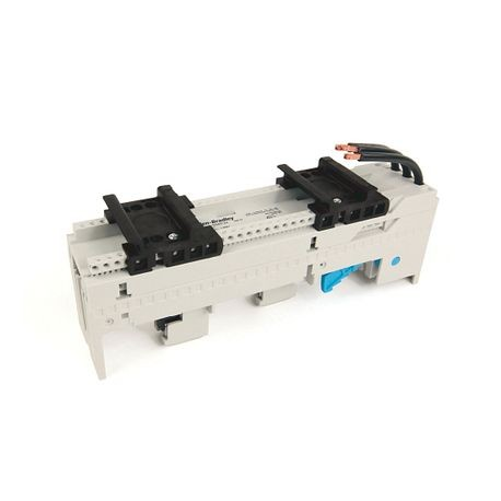 141A MCS Mounting System Adapter Modules, MCS Iso Busbar Module, 45mm x 200mm, 25 Amp, 2 MCS Specific Top Hat Rail