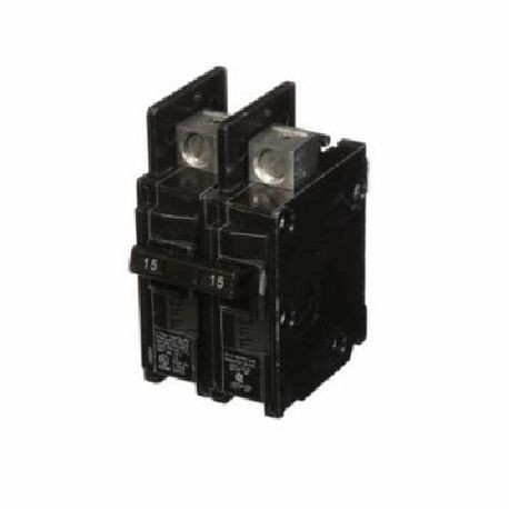 Siemens BQ2B015Y Low Voltage Molded Case Circuit Breaker With Insta Wire, 120/240 VAC, 15 A, 10 kA Interrupt, 2 Poles, Thermal Magnetic Trip