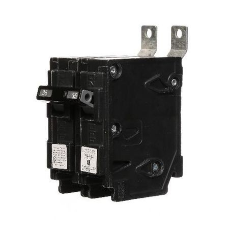 Siemens SpeedFax™ B235HH Molded Case Circuit Breaker, 120/240 VAC, 35 A, 65 kA Interrupt, 2 Poles, Thermal Magnetic Trip