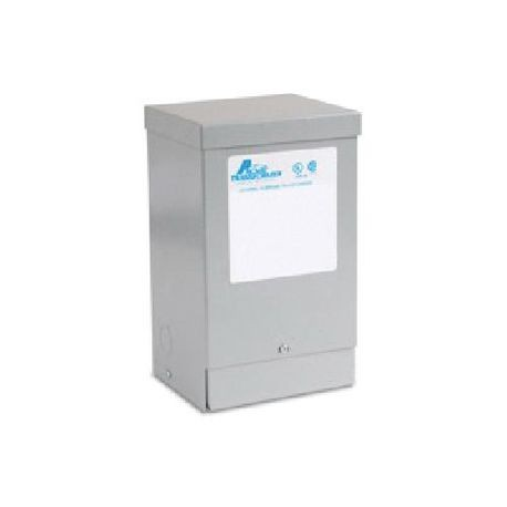 Acme Electric® T253010S Dry Distribution Transformer, 240/480 VAC Primary, 120/240 VAC Secondary, 60 Hz, 1 Phase